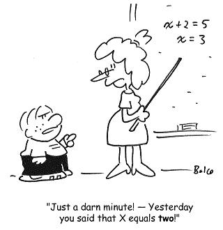 Math is funny!